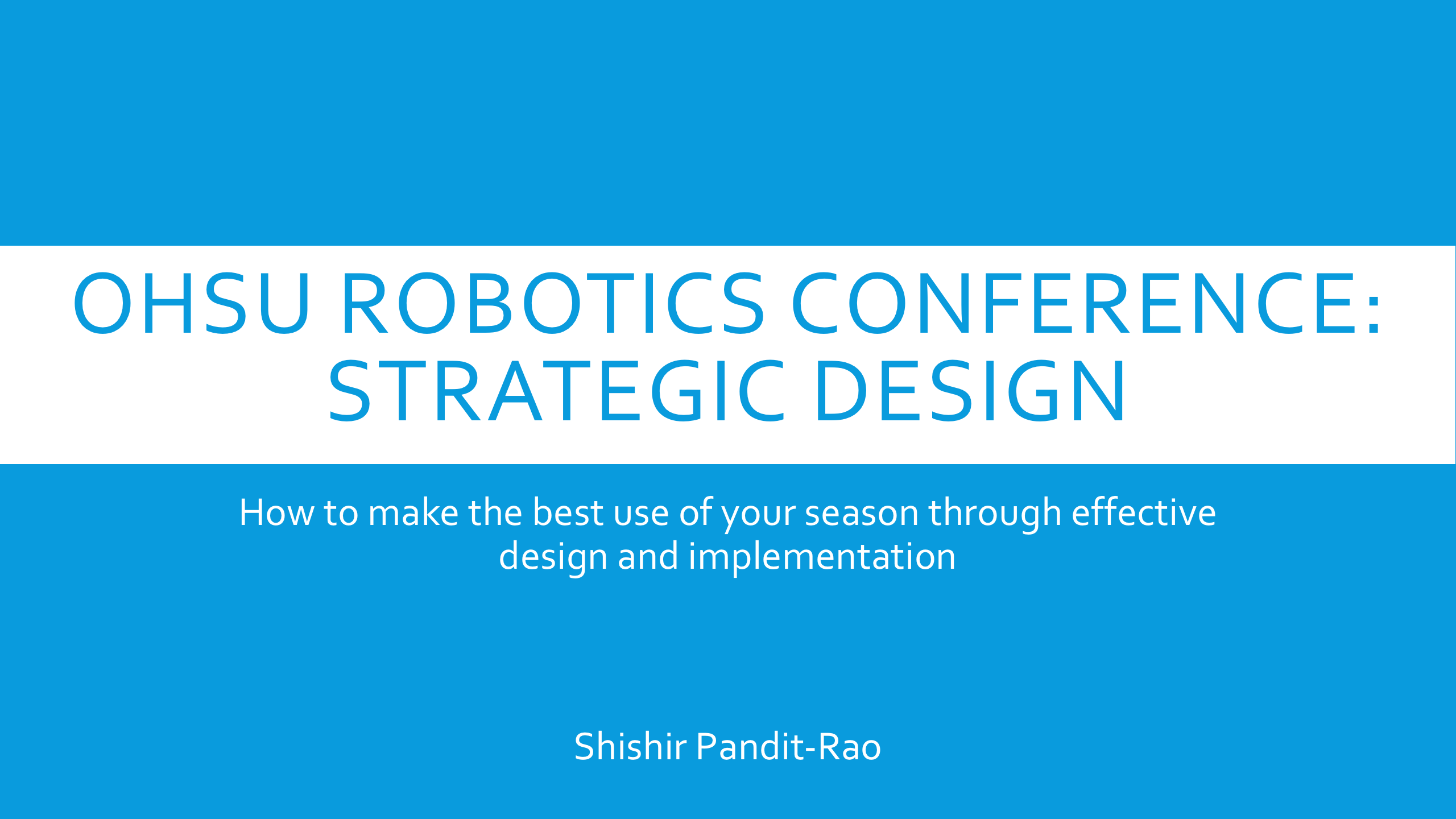 Strategic Design by RevAmped Robotics